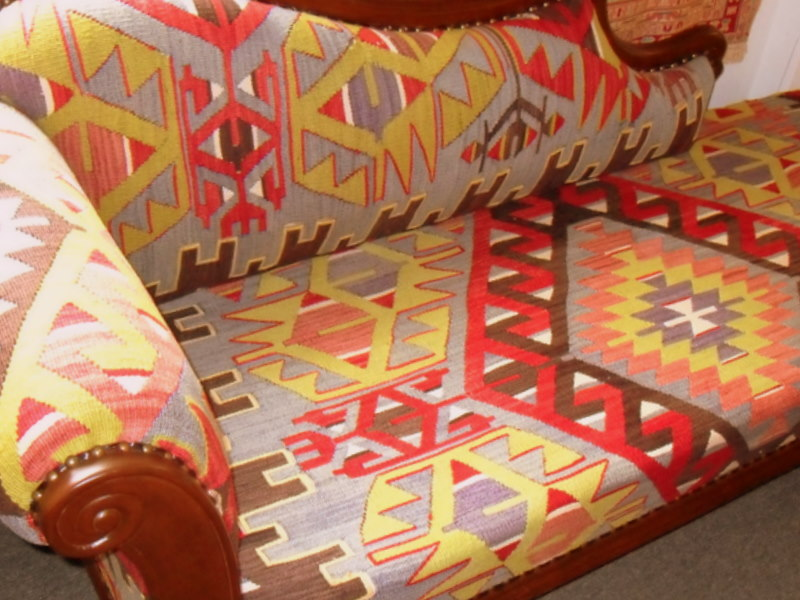 Kilim furniture & ottomans