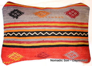 Vintage kilim cover rectangle (40*55cm) #KR14