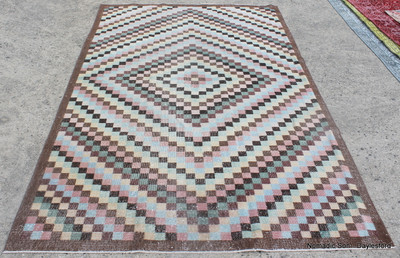 Overdyed Vintage Carpet - Damali (#D16) 162*267cm