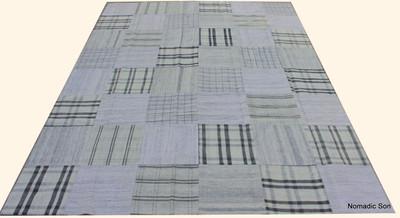 'Hamptons' Patchwork kilim (#G264) 240*319cm