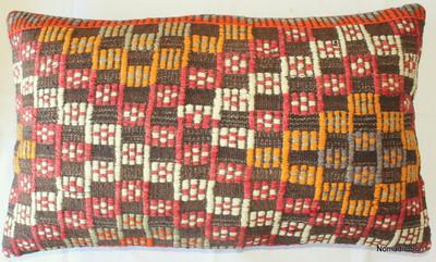 Vintage kilim cover rectangle (40*65cm) #DC6