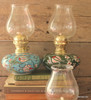 Large hand painted Gas Lanterns - variety of colours.  Made in Turkey.  Fully functional.