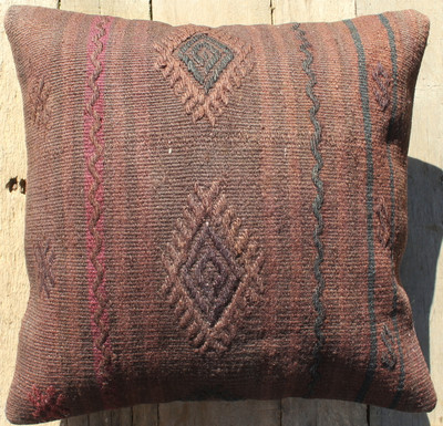 Vintage kilim cover - small (40*40cm) #369