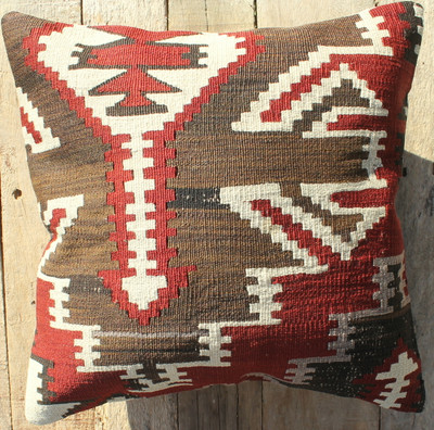 Vintage kilim cover - small (40*40cm) #418
