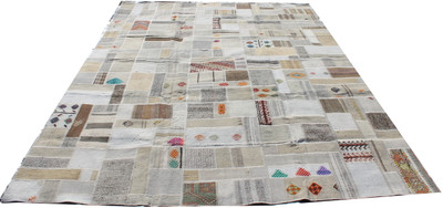 Natural Patchwork Kilim (#J216) 243*338cm
