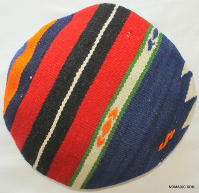 Kilim Cushion Cover Round (35cm) #RS2