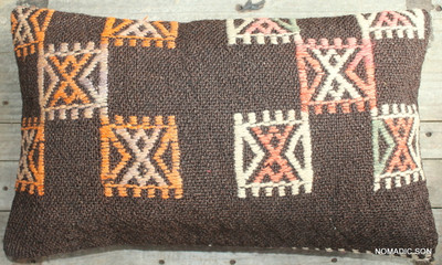 Vintage kilim cover - small rectangle (30*50cm) #SR47