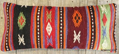 Vintage Kilim cover rectangle (30*70cm) #L372