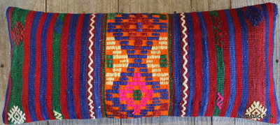 Vintage Kilim cover rectangle (30*70cm) #L3710