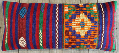 Vintage Kilim cover rectangle (30*70cm) #L3735