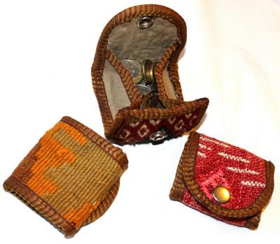 Kilim coin purses