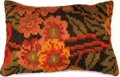 Rose kilim cover rectangle (37*55cm)