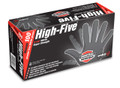 Black Nitrile Heavy Duty Powder Free Disposable Gloves 100 p/box