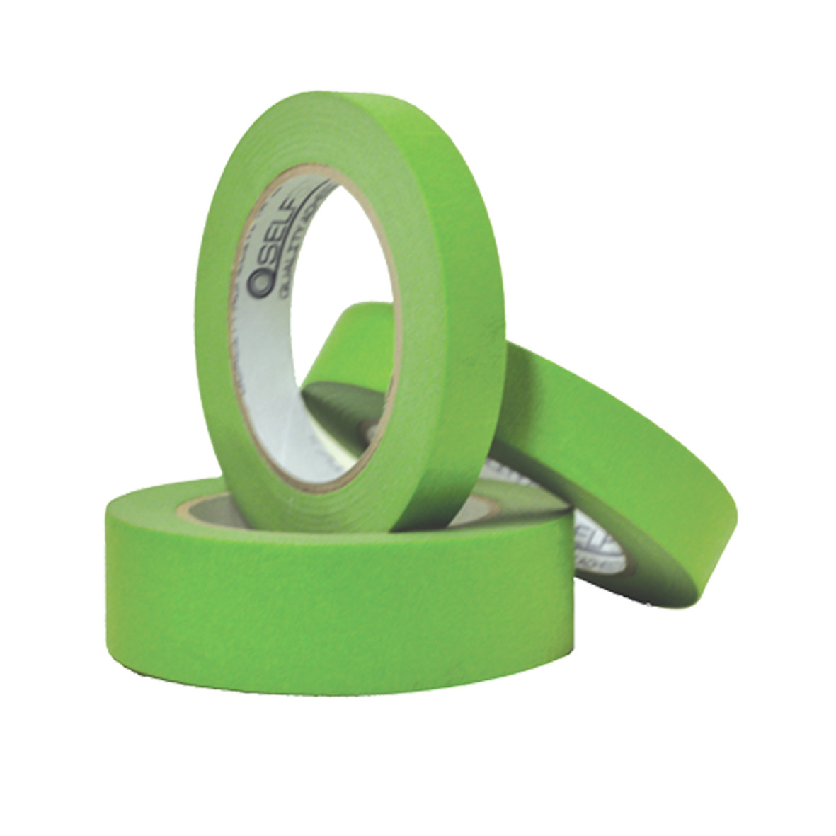 High tack 5 day exterior green masking tape for Exterior masking tape