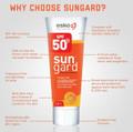 Sungard SPF50+ Moisturising Sunscreen, Why choose Sungard?