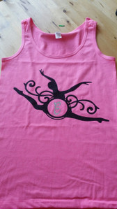Ballerina  Dancer with monogram