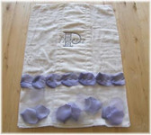 Princess Petal Burp Cloth