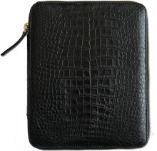 Belvon - Genuine Alligator Belly iPad Portfolio Case