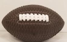 Brown Python Football