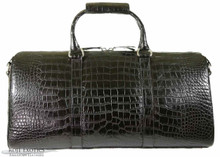 Aino - Duffel Bag - Black Alligator