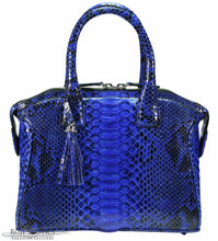 Italo - Python - Electric Blue Glazed BC - Small