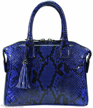 Italo - Python - Electric Blue Glazed FC - Small