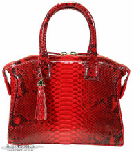 Italo - Python - Red Glazed BC - Small
