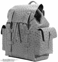Backpack -  Ostrich -  Grey Matte