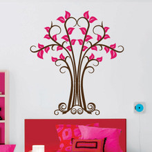 Wrought-Iron Tree Wall Decals