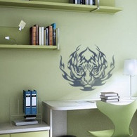 Animal Wall Decals, Tiger wall decal, tribal wall decal