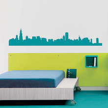 Chicago Wall Decal & Chicago Wall Decal | DecalMyWall.com
