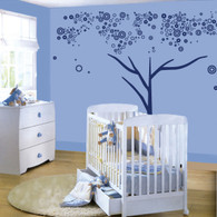 Bubbles Tree Wall Decals