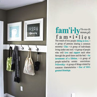 Expression wall decals, written wall decals, family wall quote decals