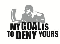 Hockey Wall Decal 1
