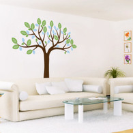 Umbrella Tree Wall Decals
