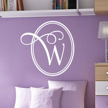 Monogram Wall Decals, Custom Monogram Wall Decals