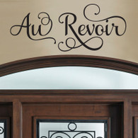 Au Revoir Wall Decal, French Wall Decals