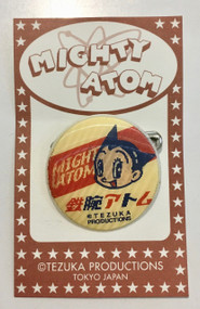Mighty Atom-Astro Boy and Uran Lenticular Pin Round