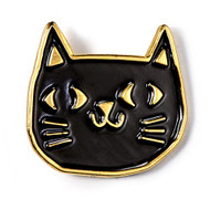 Black Cat Badge