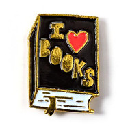 I Heart Books Badge