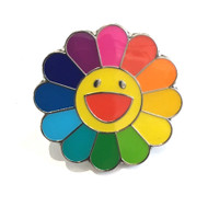 Takashi Murakami Flower Badge