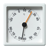 2.5R Thermometer - Hygrometer white