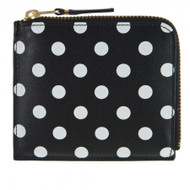 CDG Polka Dots Printed SA3100PD black