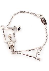 Vivienne Westwood Skeleton Bracelet Rhodium