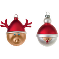 Babbarenna and Babbonatale Holiday Ornament Set