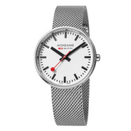 Official Swiss Railways Watch Evo Mini Giant Metal Band[35 mm Ø]
