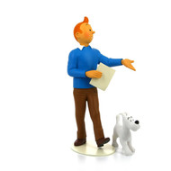 "Tintin ""Museum of the Imagination"" / ""Musée Imaginaire"" Statuette"