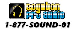 www.BoyntonProAudio.com