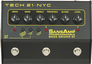 Tech 21 Sansamp Bass Driver Programmable Pedal