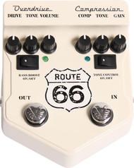 Visual Sound V2 Route 66  Overdrive/Compression Pedal